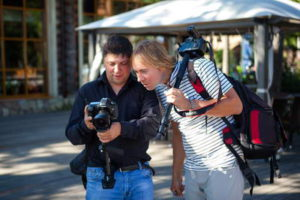 обучение фотографии и видеосъемке